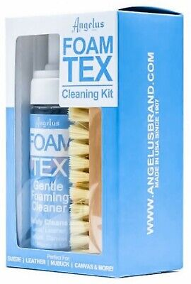 Foam-Tex fOaMiNg Cleaner KiT suede leather sneakers shoes boots foamtex ANGELUS 9