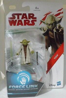 """Star Wars FORCE LINK 3.75"""", C-3P0, Luke, Kylo Ren, Rey, Obi-Wan Kenobi, Yoda. 4"""