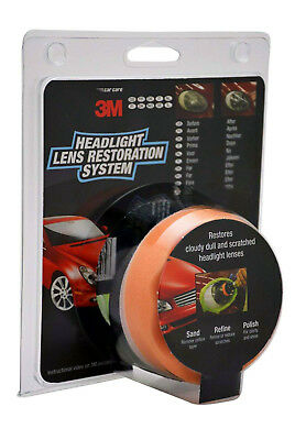 3M Headlight Restoration Kit - Polish your headlamps or lens with a drill - UK 3
