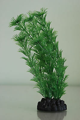 Aquarium Plant Hornwort Green Plastic  Plant 40cms High Suitable for all Tanks 2