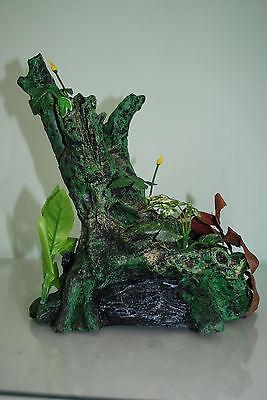 Large Root With Plants Aquarium Decoration For  Aquariums 30 x 17 x 30 cms 4