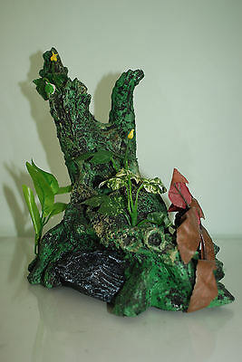 Large Root With Plants Aquarium Decoration For  Aquariums 30 x 17 x 30 cms 5