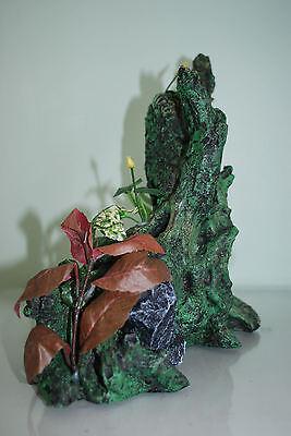 Large Root With Plants Aquarium Decoration For  Aquariums 30 x 17 x 30 cms 3
