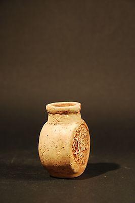 Mayan Poison Bottle 600 - 800 A.d. 6