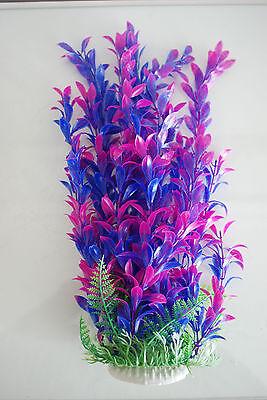 Aquarium Plants Approx 33cms High Purple & Blue Suitable for all Aquariums 3