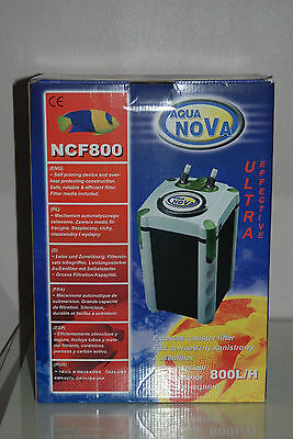 Aquarium External Filter 2000 Lts Per Hour With Washable Filters Complete System 7