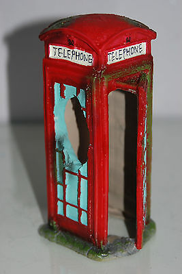 Aquarium Large Old London Telephone Box 9x7.5x17 cms Suitable For All Aquariums 7