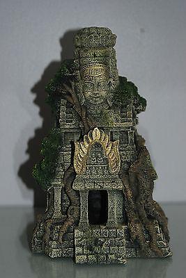 Stunning Large Detailed Aquarium Cambodian Temple 17 x 14 x 27 cms 6