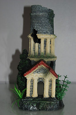Stunning Aquarium Tower Entrance 12 x 11 x 25 cms Suitable For All Tanks & Orbs 6