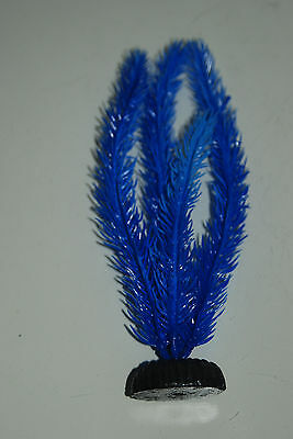 Aquarium Plant Hornwort Blue Plastic Plant 40cms High Suitable for all Tanks 2
