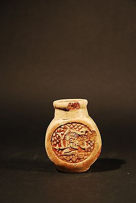 Mayan Poison Bottle 600 - 800 A.d. 3