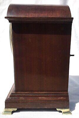 Antique W&H Winterhalder Hofmeier Bracket Mantel Clock Robert Jones Liverpool 3