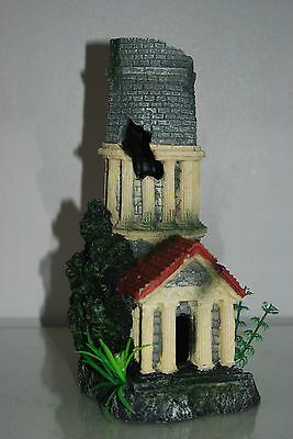 Stunning Aquarium Tower Entrance 12 x 11 x 25 cms Suitable For All Tanks & Orbs 2