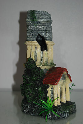 Stunning Aquarium Tower Entrance 12 x 11 x 25 cms Suitable For All Tanks & Orbs 3