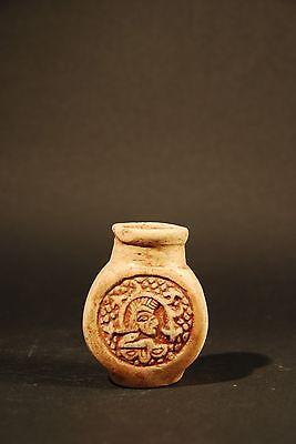 Mayan Poison Bottle 600 - 800 A.d. 5
