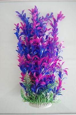 Aquarium Plants Approx 33cms High Purple & Blue Suitable for all Aquariums 2