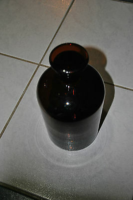 Alte Apothekerflasche Apotheker Flasche Stopfen Braunglas Old Pharmacy 2 Liter 2
