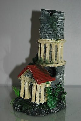 Stunning Aquarium Tower Entrance 12 x 11 x 25 cms Suitable For All Tanks & Orbs 4