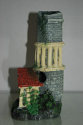 Stunning Aquarium Tower Entrance 12 x 11 x 25 cms Suitable For All Tanks & Orbs 5