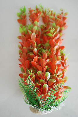Aquarium Plants Approx 33cms High Red & Green Suitable for all Aquariums 6