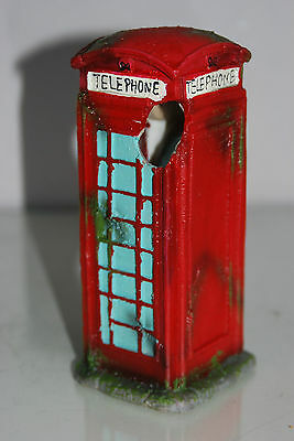 Aquarium Large Old London Telephone Box 9x7.5x17 cms Suitable For All Aquariums 5 • EUR 10,93