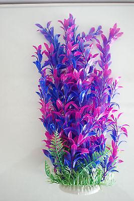 Aquarium Plants Approx 33cms High Purple & Blue Suitable for all Aquariums 4