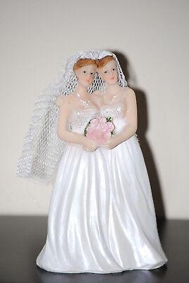 Tortenfigur Hochzeitstorte Tortenaufsatz Frauen Figur Lesbisch