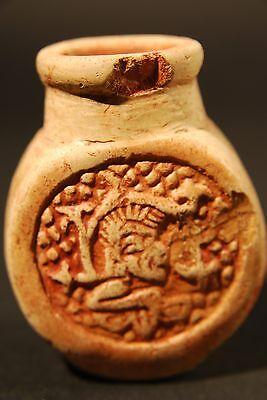 Mayan Poison Bottle 600 - 800 A.d. 2