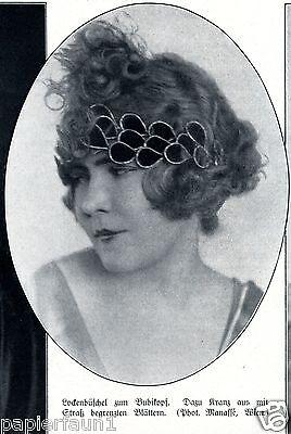 Moderne Frisuren 6 Fotoabb. 1925 Filmschauspielerinnen France Ander Minzenti - 3