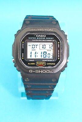 Gents Vintage Casio G shock Dw 5600c Watch 200m