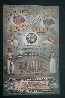 Victorian Electropathic Belts Leaflet ******(See Description For Details)****** 9