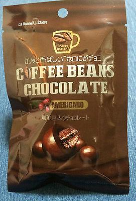 2 x packs Americano Coffee Beans Chocolate - From Japan - Snacks / Chocolates 2