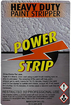 Power Strip Best Industrial Strength Heavy Duty Paint Stripper Remover 1Litre 6