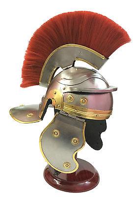 Römischer Soldat Centurion Helm ~ Offizier Kostüm Mittelalter Ritterrüstung