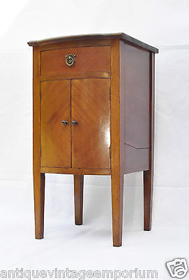 Beautiful Edwardian Antique Mahogany Bow Front Cabinet C1910 Xmas 2