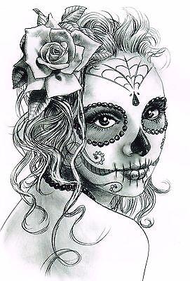 gro sugar skull tattoo malvorlagen zeitgen ssisch entry level resume vorlagen sammlung. Black Bedroom Furniture Sets. Home Design Ideas
