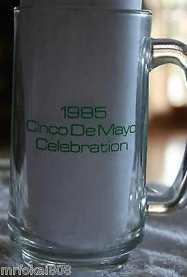 The Old Kailua Cantina 1985 Cinco Demayo Acl Glass Hawaii Bottle 2