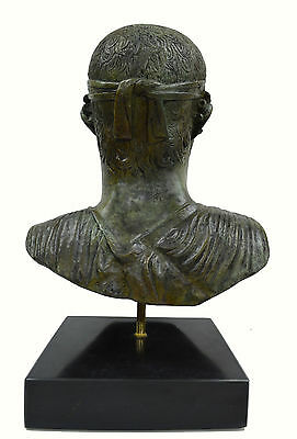 Charioteer of Delphi sculpture marblebased real size Great bronze statue bust 4