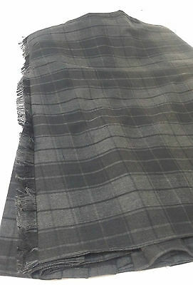 Grey Highlander 8Yd  Kilt Only Ex Hire £99 A1 Condition Large Stock But Hurry 6
