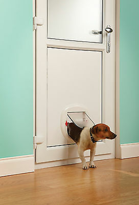 Staywell PetSafe 280EF Slim Line To Fit Glass Patio Door Big Cat Flap 3