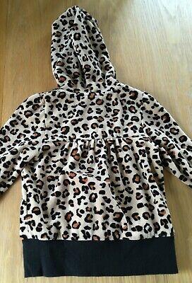 Girls Leopard Print Hoodie Size 3 Years 2