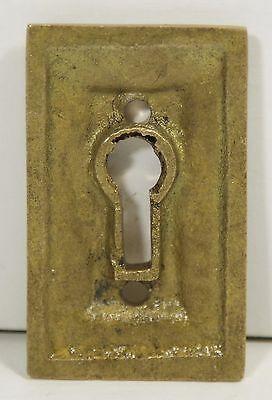 Cast Brass Olde New Stock Studded Key Hole Cover 2