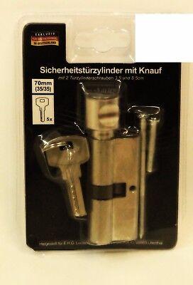 Türschloss KNAUF Zylinder Drehknaufzylinder Tür Schloss Schließzylinder 60-70-90 6