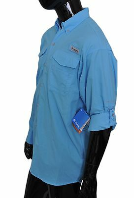 3d2a1025267 ... Columbia Men's PFG Distant Water™ Omni-Shade Long Sleeve Shirt  XM7160-911 3