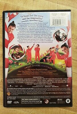 Charlie and the Chocolate Factory (DVD, 2005, Full Screen) 3