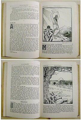 1912 SIGNED Bezalel LILIEN Luther BIBLE Jewish ART BOOK Art Nouveau JUGENDSTIL 12