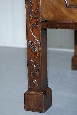 Viscountess Boyd's Ince Castle Rare George Iii Mahogany Sideboard Chippendale 10