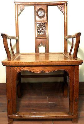 Antique Chinese Ming Arm Chairs (5910) (Pair), Circa 1800-1849 6