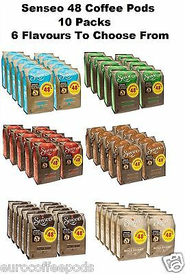 Douwe Egberts Senseo 48 Coffee Pods / Pads, 10 Packs - 6 Flavours To Choose From 2