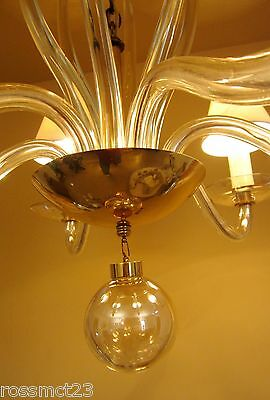 Vintage Lighting 1950s Mid Century high quality chandelier by Lightolier 8